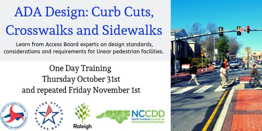 ADA Design: Curb Cuts, Crosswalks and Sidewalks.