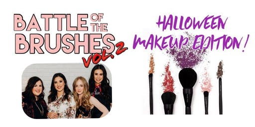 Battle Of The Brushes, Vol 2, Halloween Makeup Edition