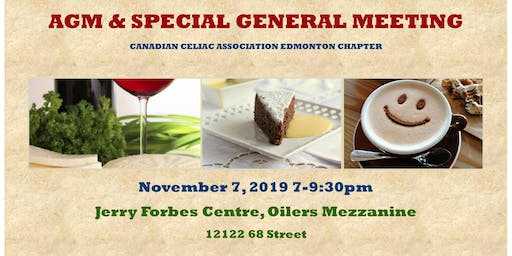 AGM & SPECIAL GENERAL MEETING