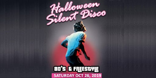 ROOFTOP SILENT DISCO 80's HALLOWEEN PARTY w/ 2 Rooms of Music