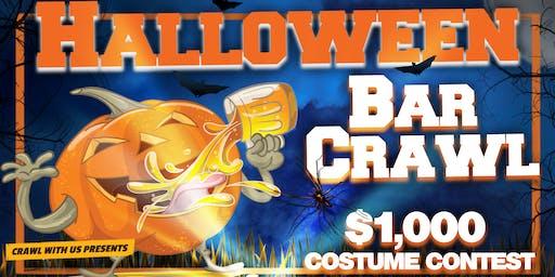 Halloween Bar Crawl - San Antonio