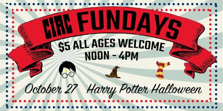 Circ Fundays: Harry Potter Halloween tickets
