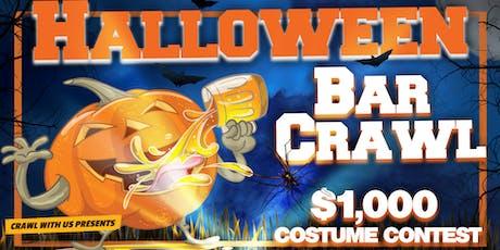 Halloween Bar Crawl - Greenville tickets