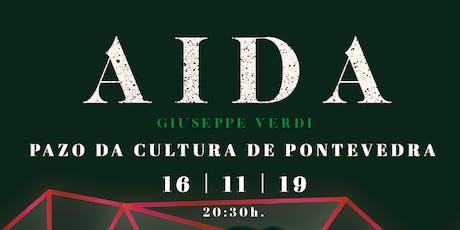 AIDA, G.Verdi en Pontevedra entradas