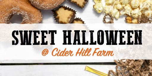 Sweet Halloween at Cider Hill Farm