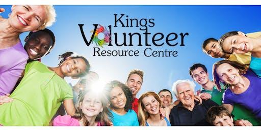 KVRC Volunteer Workshop Series 2019-2020