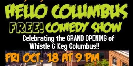 Hello Columbus Free Comedy Show tickets
