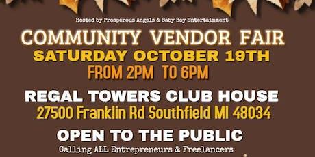 Community Vendor Fair tickets
