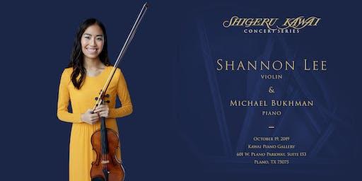 Shigeru Kawai Concert Series: Shannon Lee, Violin