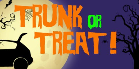"Halloween ""Trunk or Treat"" Party"