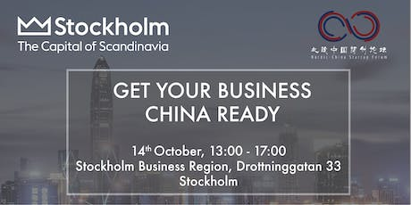 Get Your Business China Ready tickets