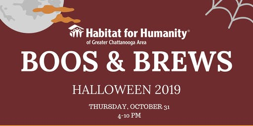 Chattanooga's Boos & Brews for Habitat for Humanity!