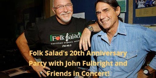 Folk Salad's 20th Anniversary with John Fullbright & Friends!
