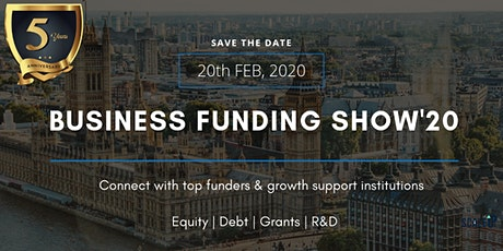 The Business Funding Show 2020 tickets