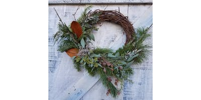 11/29 - Holiday Wreath @ Lauren Ashton Cellars, Woodinville