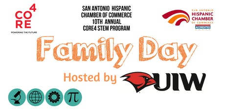 2019 CORE4 STEM Family Day at the University of the Incarnate Word tickets