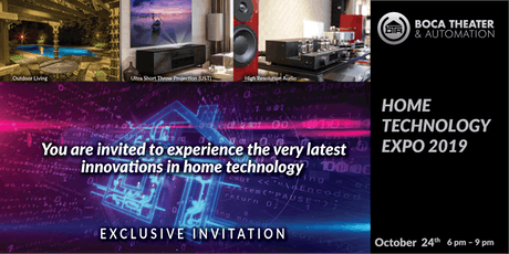 BTA Home Technology Expo 2019 tickets