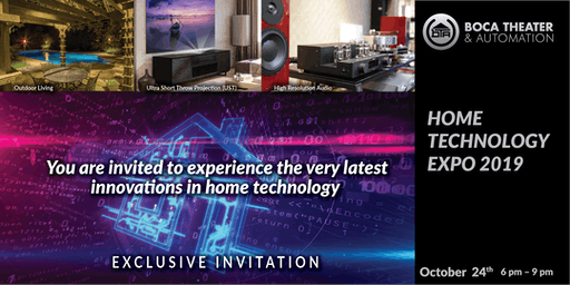 BTA Home Technology Expo 2019