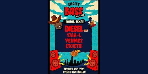 DJ Diesel - Shaq's Bass All Stars - Stereo Live Dallas