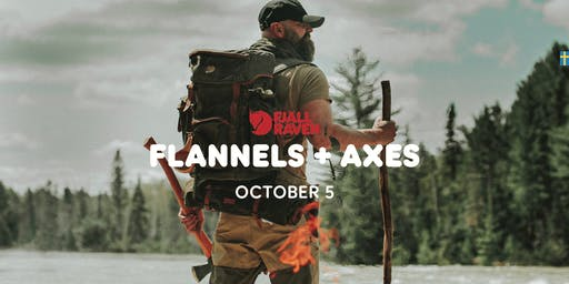 Flannels & Axes at Fjallraven Seaport