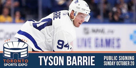 Tyson Barrie Signing at the Toronto Sports Expo tickets