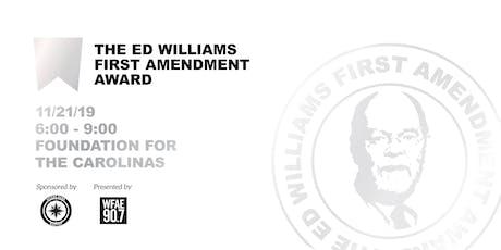 Ed Williams First Amendment Award - Presented by WFAE tickets