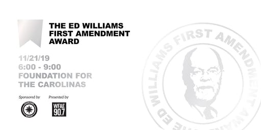 Ed Williams First Amendment Award - Presented by WFAE