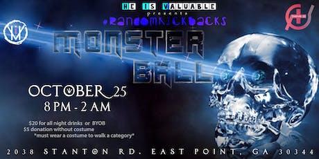 #RandomKickback : Monster Ball tickets