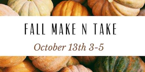 Fall Make n Take