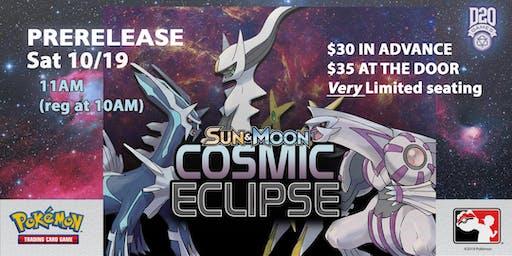 Pokemon Cosmic Eclipse Prerelease