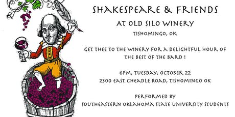 Shakespeare at Old Silo Winery tickets