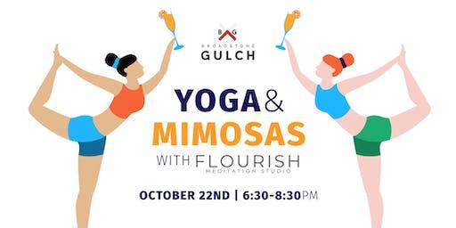 Yoga & Mimosas at Broadstone Gulch