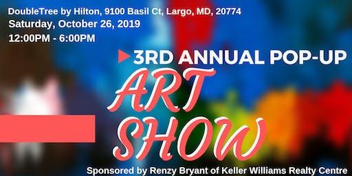 Pop-Up Art Show (3rd Annual)