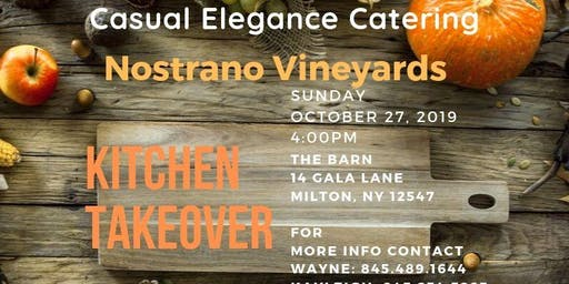 Autumn Harvest Dinner - Kitchen Takeover - Casual Elegance Catering