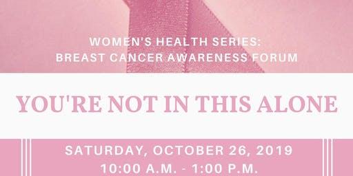 Women's Health Series: Breast Cancer Awareness Forum
