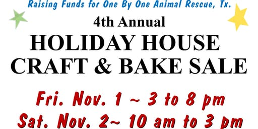 Holiday House Craft and Bake Sale