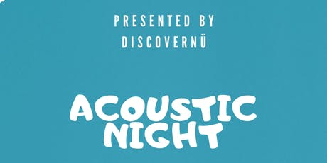 DiscoverNü Live: Acoustic Night tickets