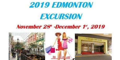 2019 Edmonton Excursion tickets