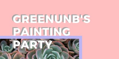 greenUNB's Paint Party