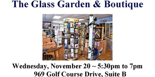 After Hours Networking Mixer Hosted by The Glass Garden & Boutique