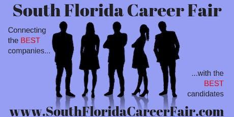 Broward County BB&T Center Career Fair December 12th, 2019 tickets
