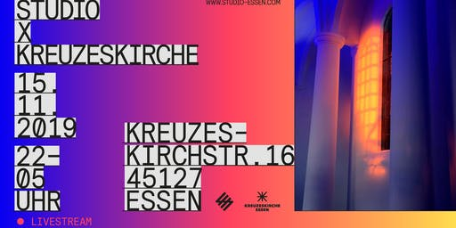 "Studio x Kreuzeskirche ""Livestream Session"""
