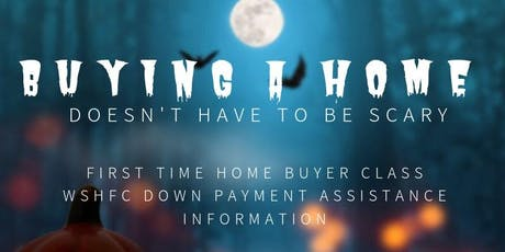 First Time Home Buyer Class- WSHFC Down Payment Assistance tickets