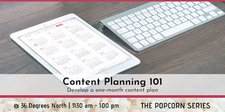 Content Planning 101 tickets
