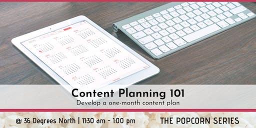 Content Planning 101