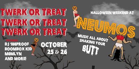 Twerk or Treat - Halloween Weekend at Neumos on Saturday! tickets