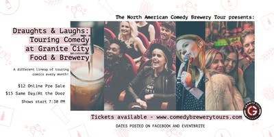Draughts & Laughs: Touring Comedy at Granite City!