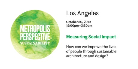 MEASURING SOCIAL IMPACT tickets