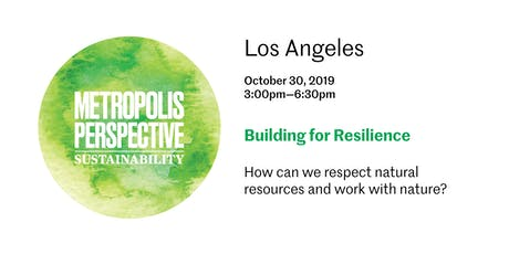 BUILDING FOR RESILIENCE tickets