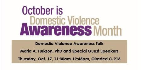 Domestic Violence Awareness Event